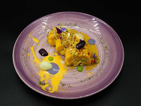 La chalaquita. Restaurante peruano Inti de Oro Castellana.