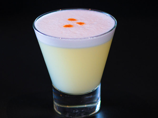 Pisco Sour | Restaurante peruano Inti de Oro Castellana.